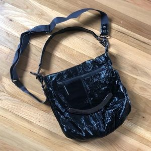 Hobo International patent leather crossbody bag